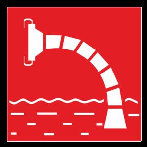 Знак – Пожарный водоисточник F07